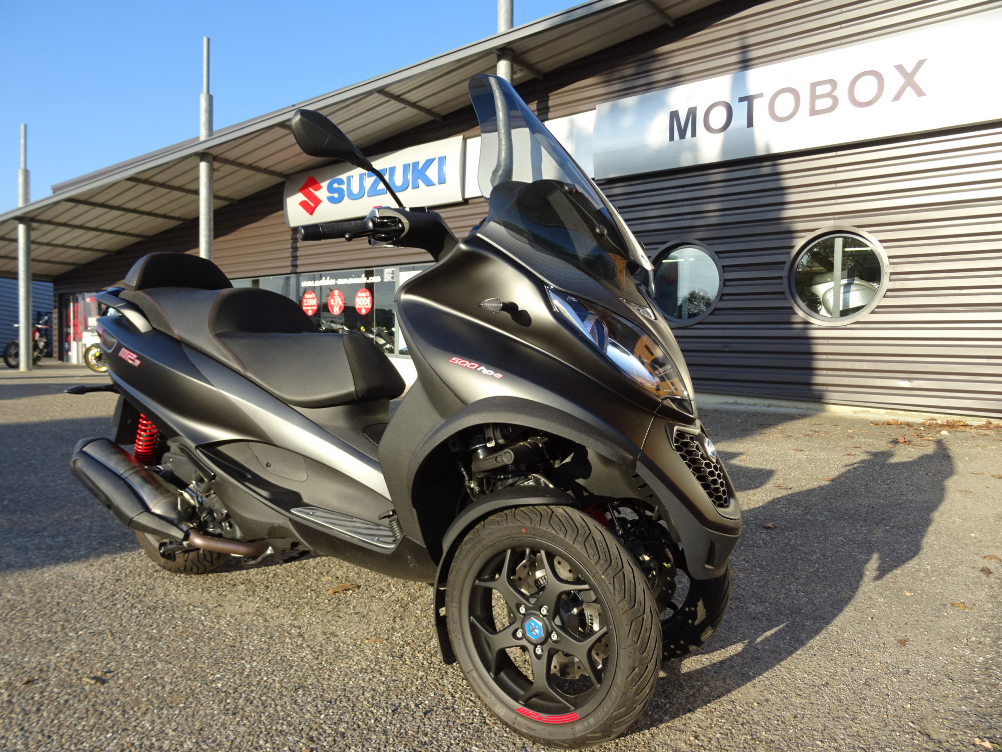 photo de PIAGGIO MP3 500 LT ABS 500 occasion de couleur  en vente �  Marmande