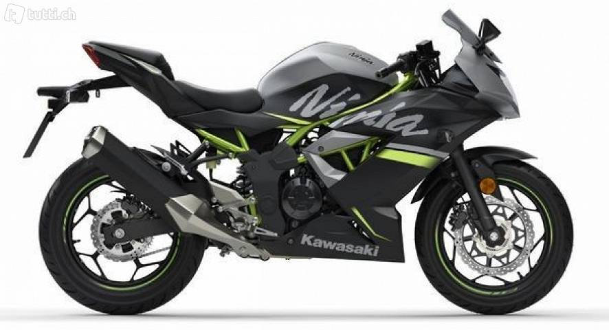 photo de KAWASAKI KLX 125 125 occasion de couleur  en vente �  Paris 12