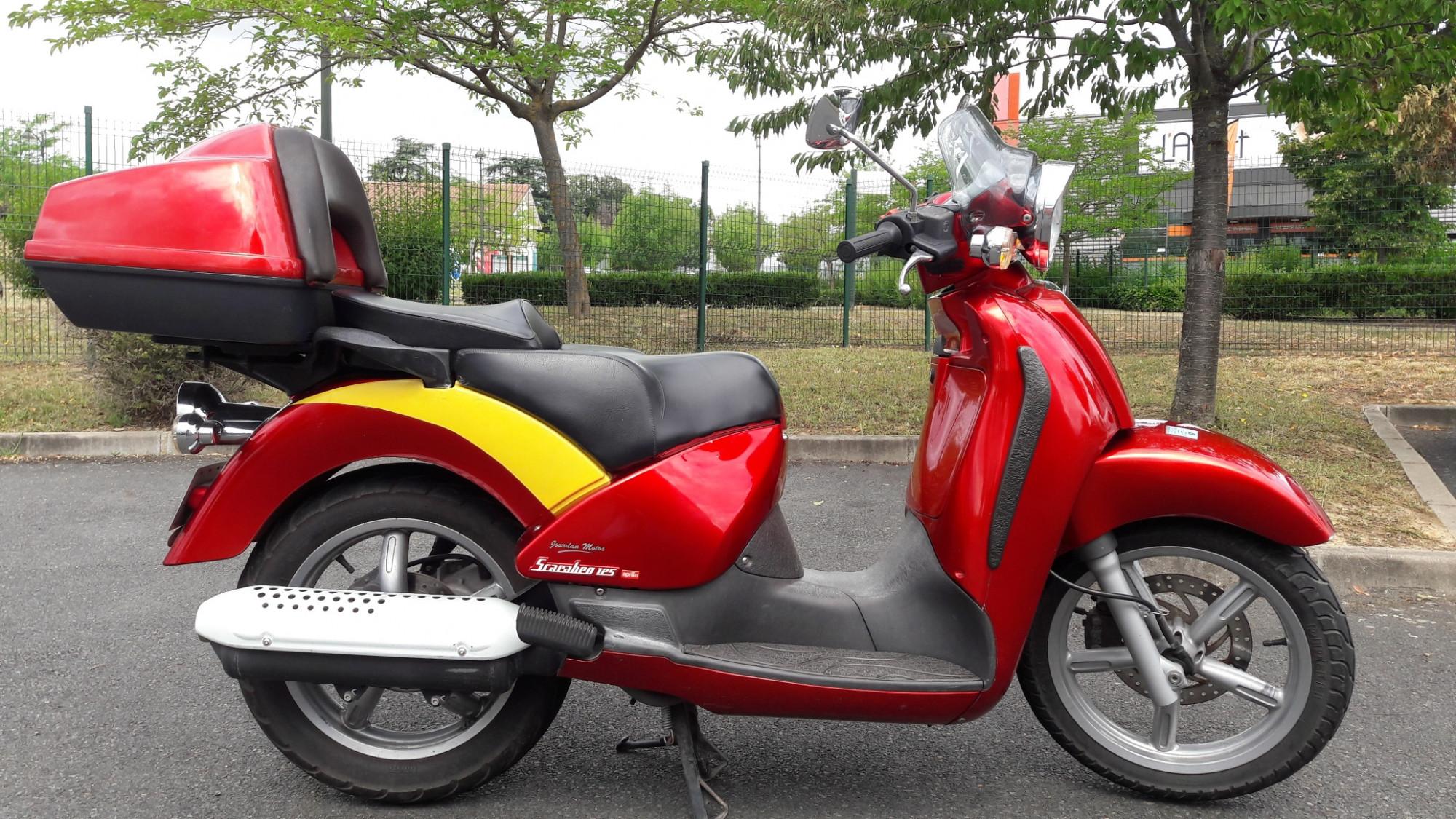 Annonce moto Aprilia SCARABEO