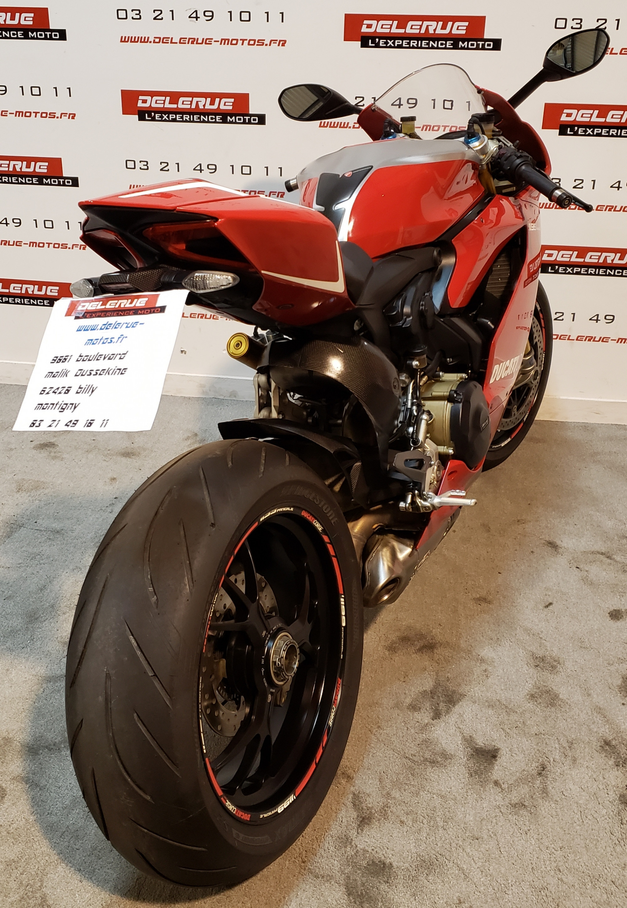 photo de DUCATI PANIGALE 1199 1199 occasion de couleur  en vente �  Billy Montigny