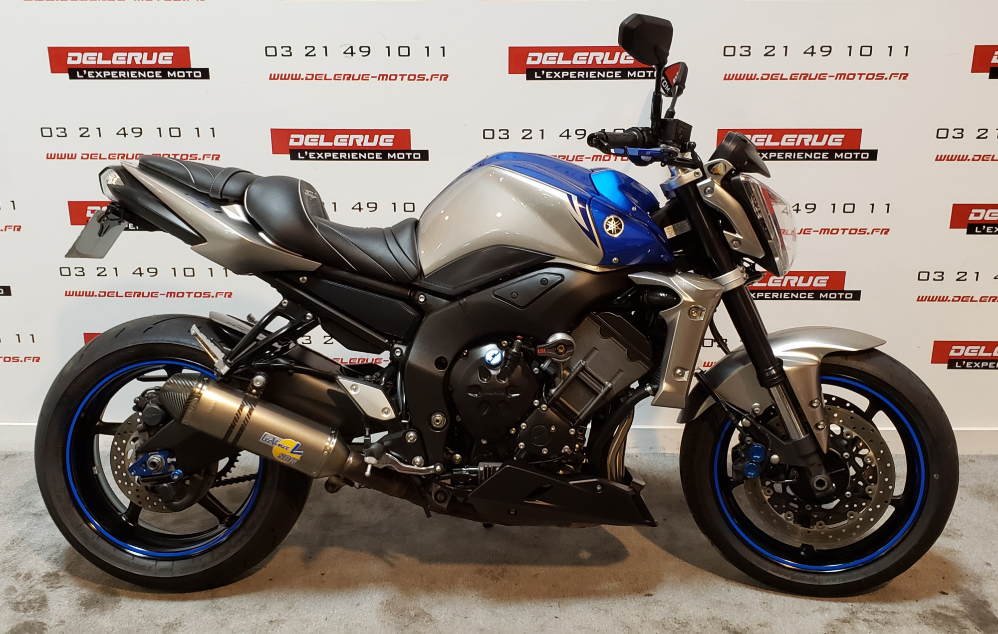 photo de YAMAHA FZ1 FAZER 1000 occasion de couleur  en vente �  Billy Montigny