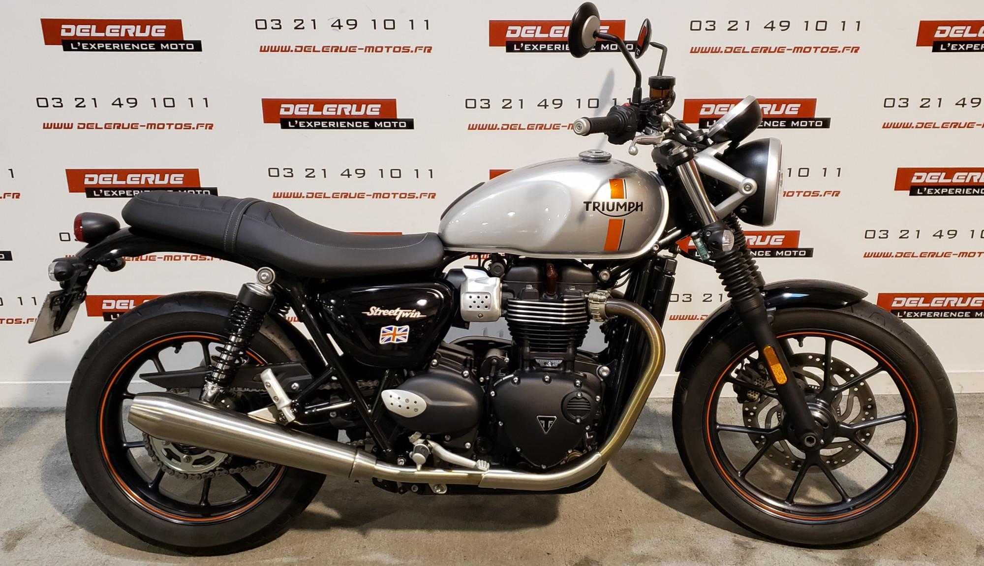 Annonce moto Triumph Bonneville Street Twin