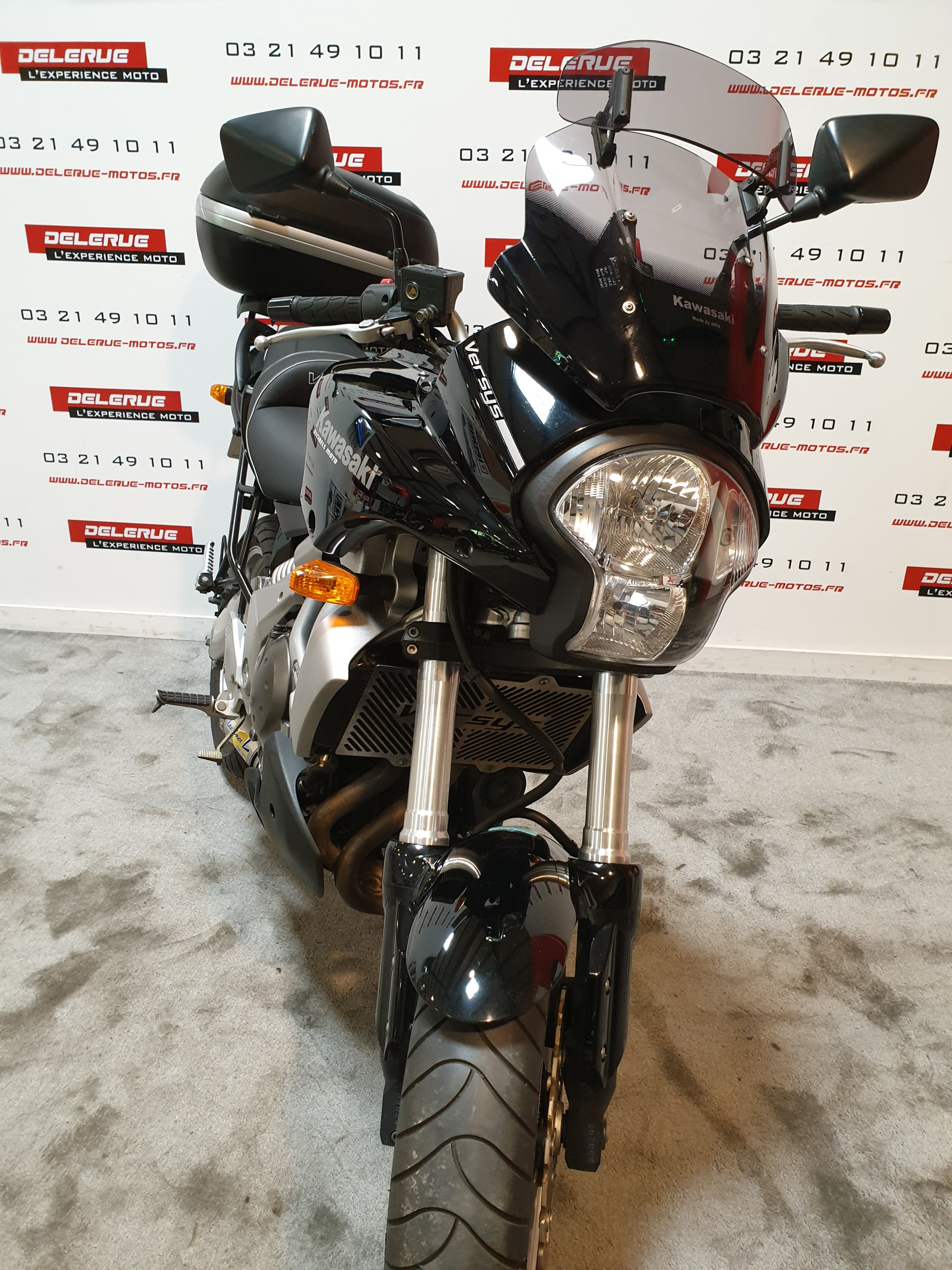 photo de KAWASAKI VERSYS 650 occasion de couleur  en vente à Billy Montigny n°2