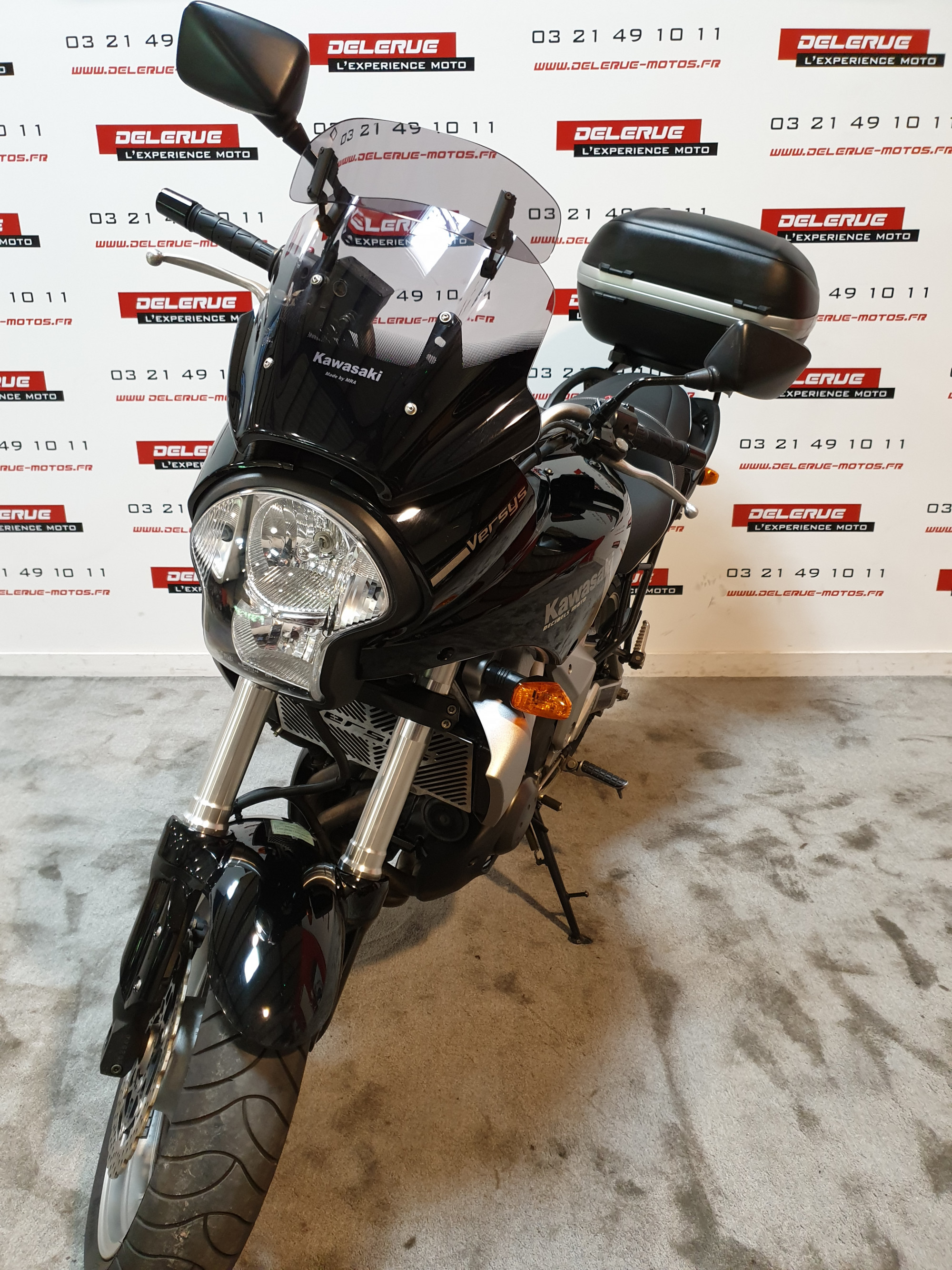photo de KAWASAKI VERSYS 650 occasion de couleur  en vente à Billy Montigny n°3
